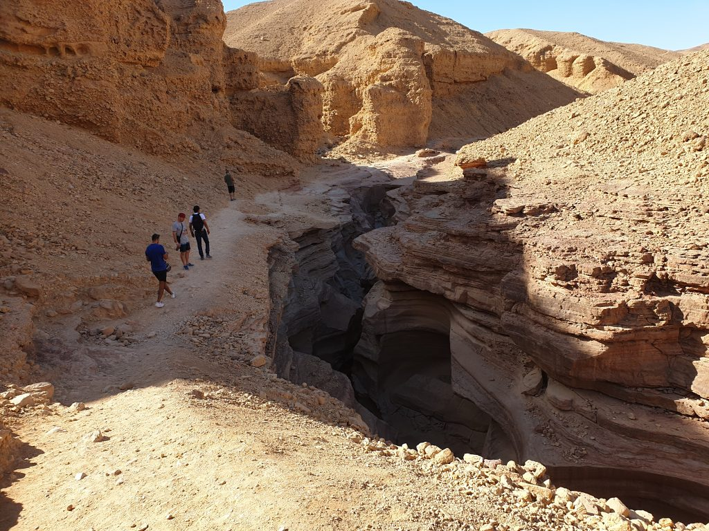 Israels Red Canyon in der Wüste Negev
