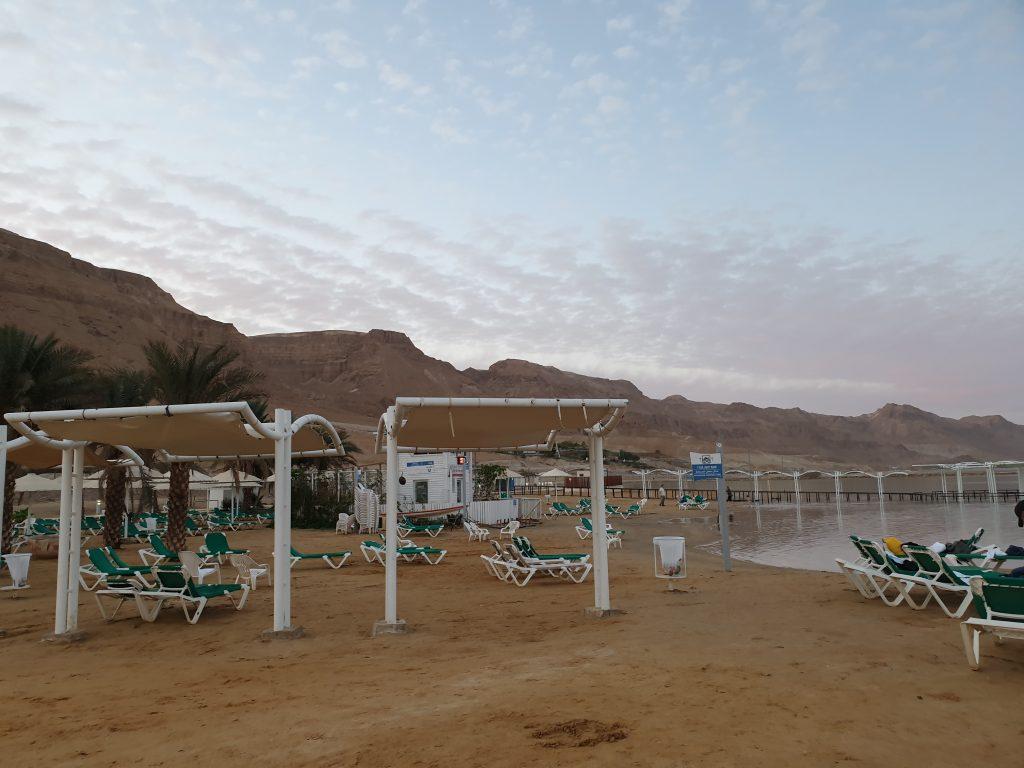 Ein Booked Beach - Der Strand am Toten Meer