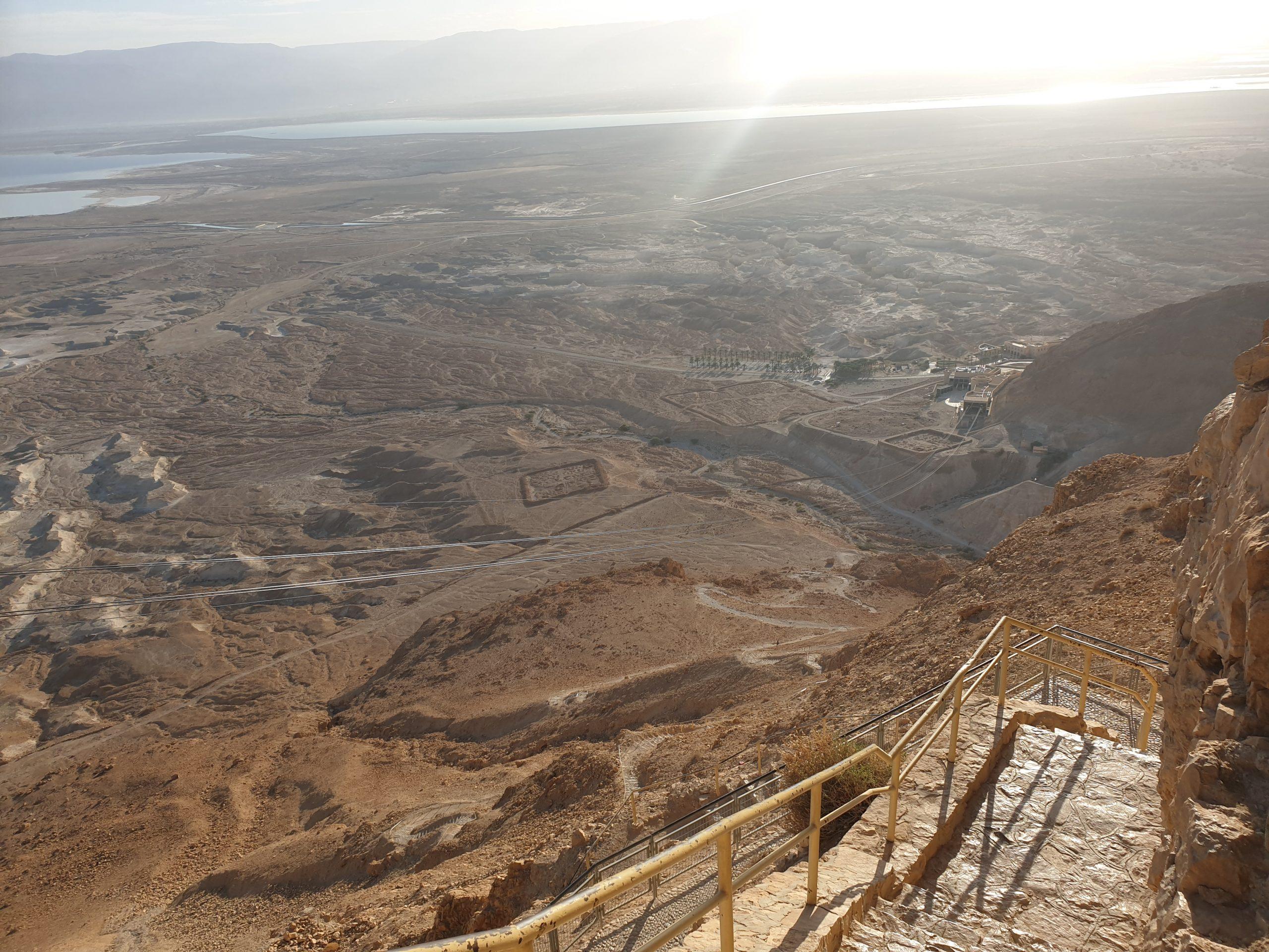 Schlangenpfad nach Masada