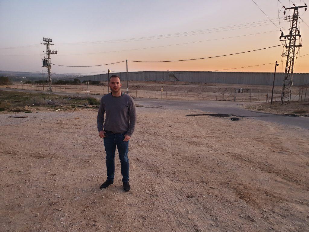 Grenze Gazastreifen Tobias Orsowa