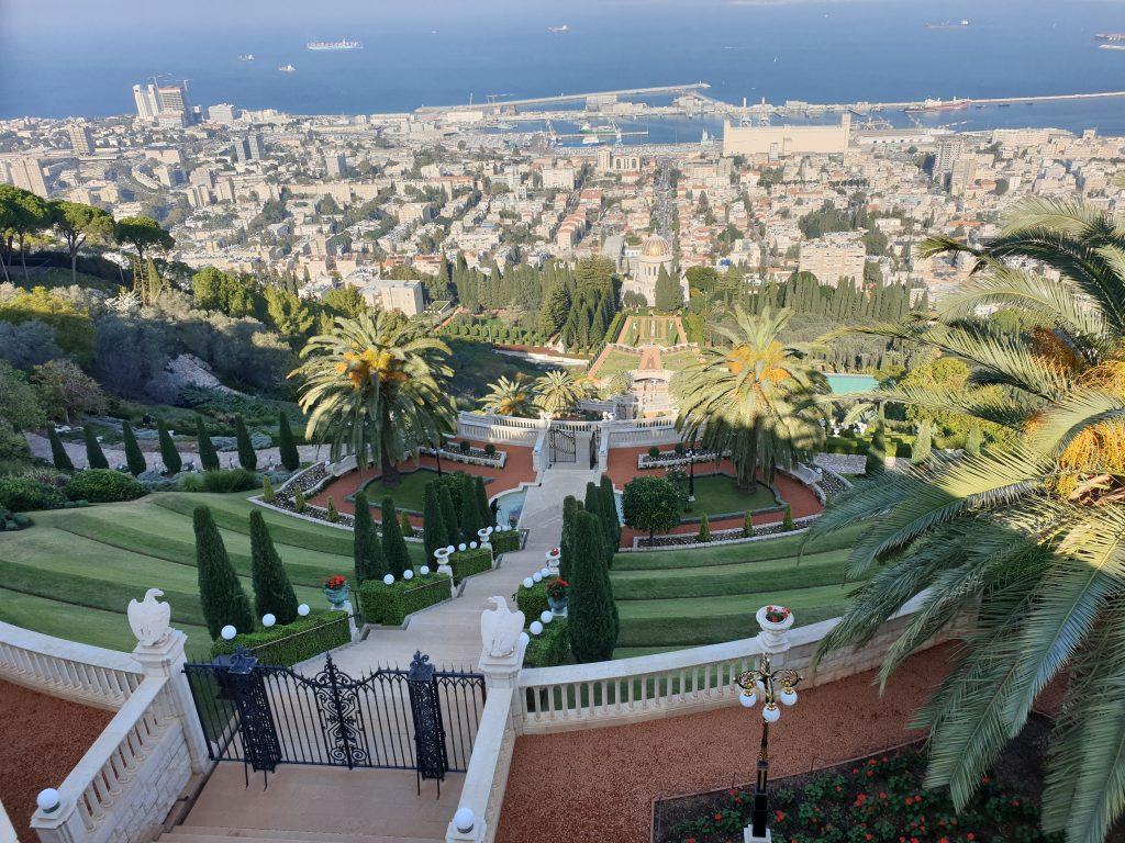 Bahai Gärten in Haifa