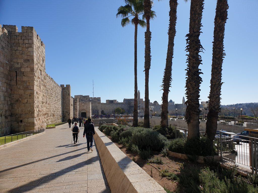 Mauern Altstadt Jerusalem
