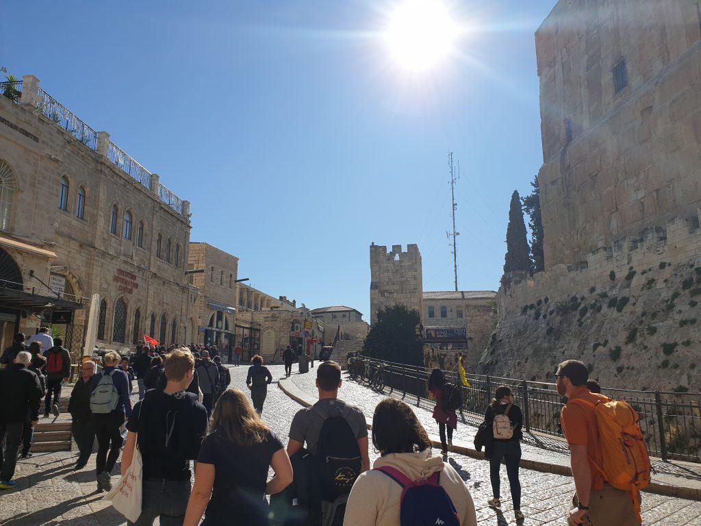 Jerusalem - Eingang zur Altstadt