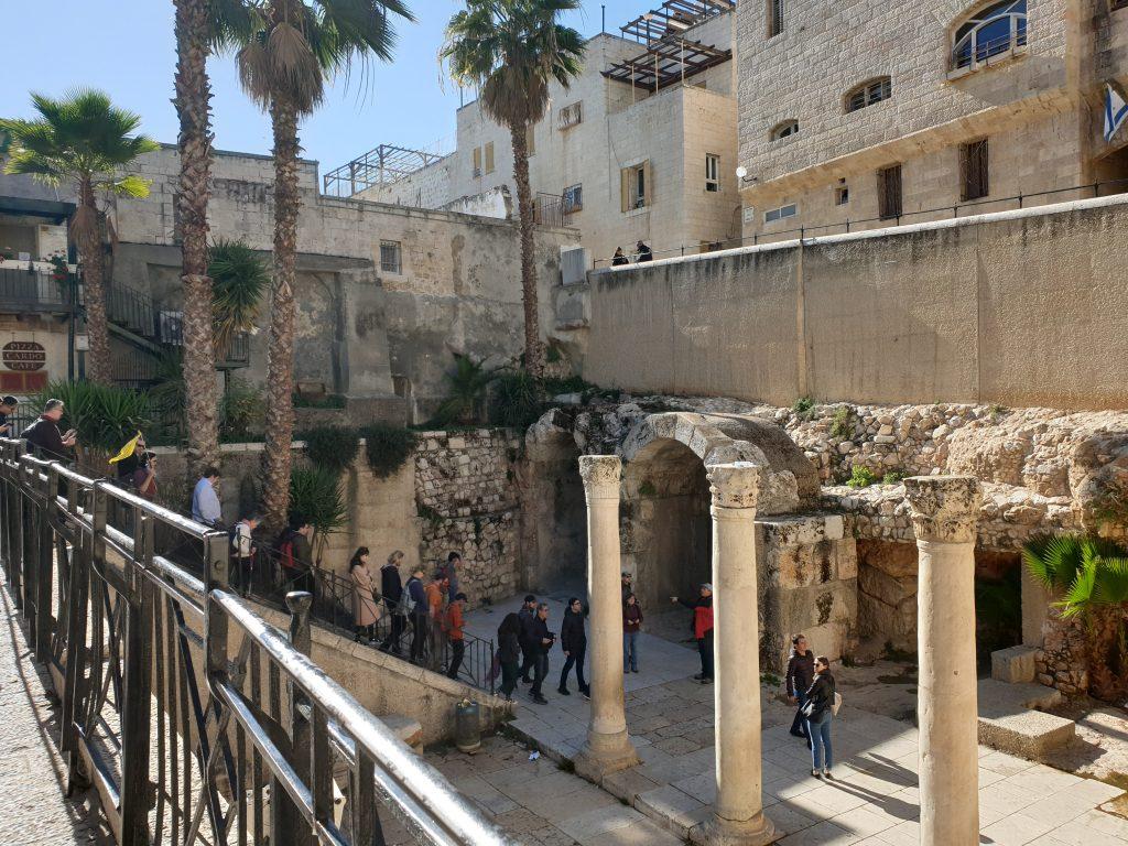 Römische Zeugnisse in der Altstadt von Jerusalem