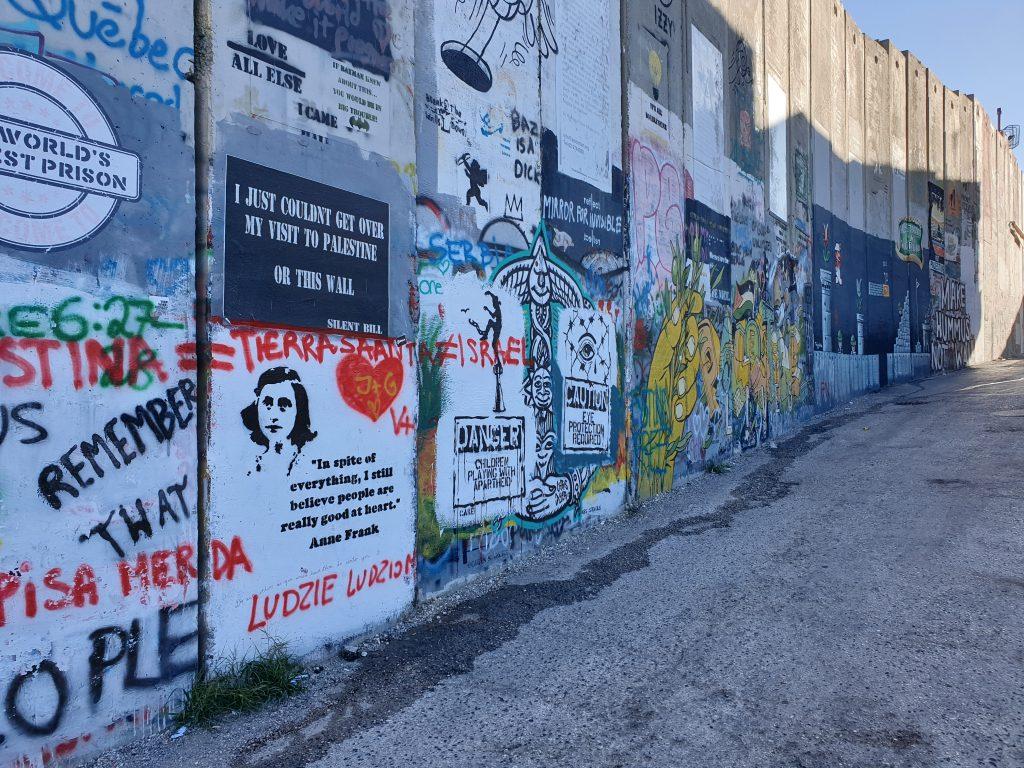 Grenzzaun Bethlehem Banksy