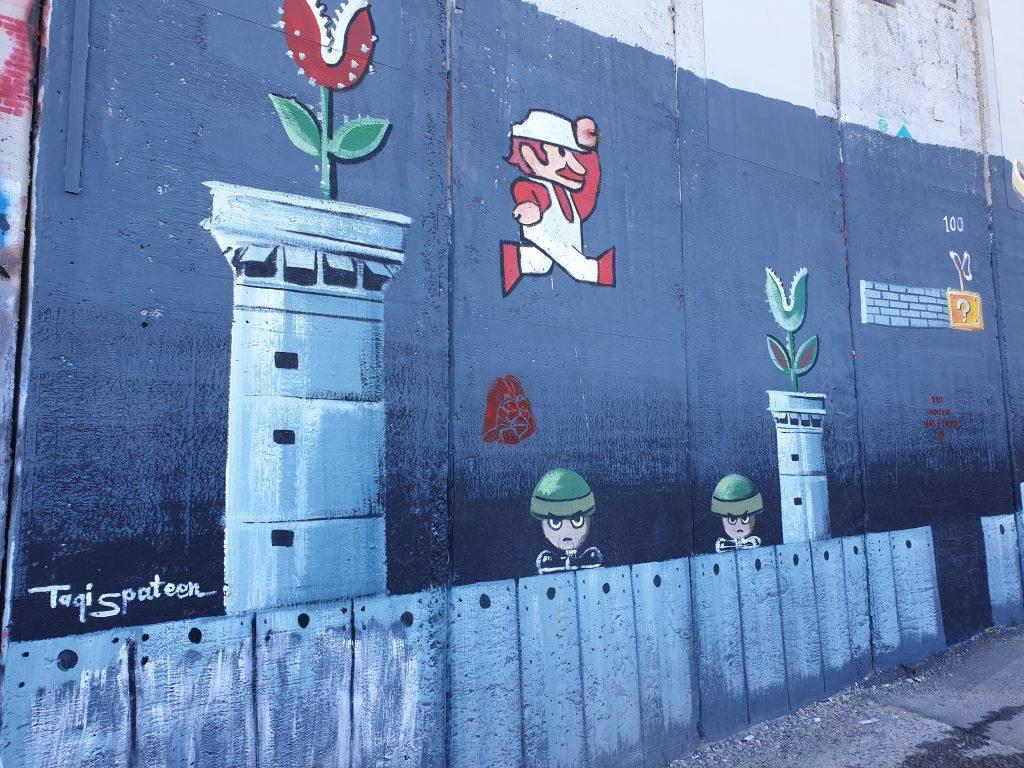 Grenzzaun Bethlehem Banky