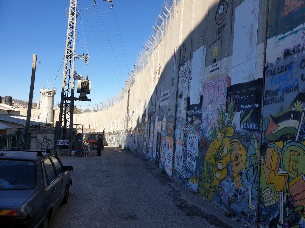 Grenzzaun Bethlehem