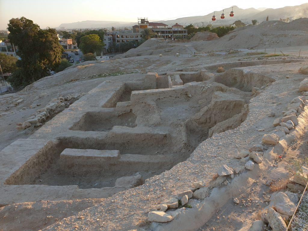 Die Ruinen von Jericho