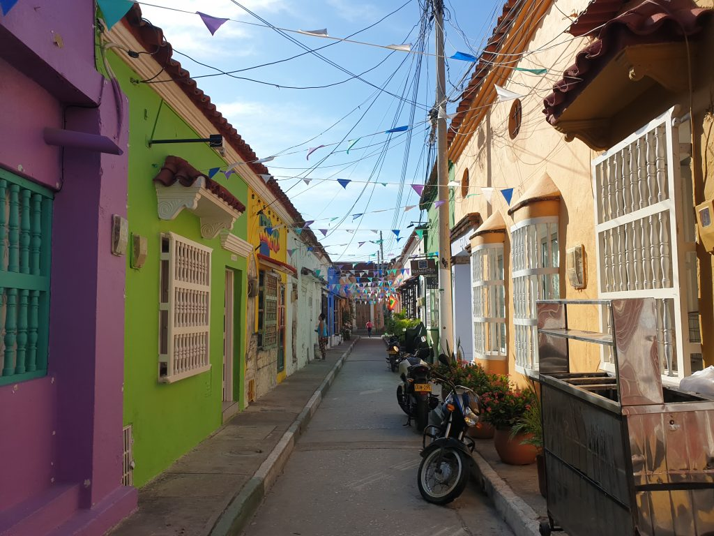Karibik Flair in Cartagena